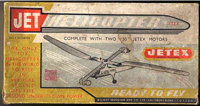 Jetex Jet Helicopter kit box
